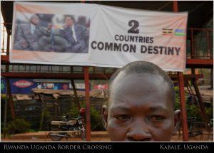 UGANDA RWANDA BORDER CROSSING